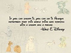 Walt Disney - Walt Disney - With his brother Roy O. Disney, Walt co-founded the Walt Disney Productions, which later became one of the best-. Life Is Beautiful Quotes, Amazing Quotes, Cute Quotes, Great Quotes, Quotes To Live By, Random Quotes, Quick Quotes, Beautiful Mind, Happy Quotes