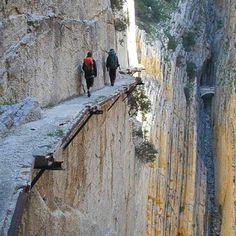 Camino Del Rey, Spain
