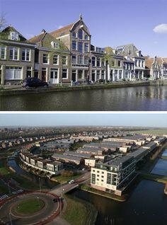 De gezellige binnenstad of toch liever een ruim opgezette buitenwijk? Welke van de 2 heeft uw woonvoorkeur?