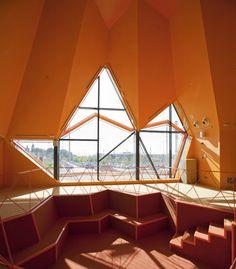 Youth centre interior design