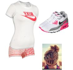 Volleyball, or practice clothes.