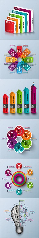 Minimal Businessman infographic Design | Ai Illustrator, Minimal ...