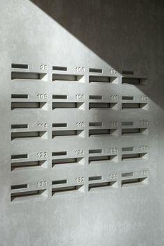 Concrete Letterboxes (Het Kasteel by HVDN)