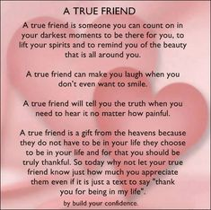 friendship quotes Are you in a friendship that seems like its one-sided If so, get some tips on how to resolve this issue with your friends and make sure you both are doing your part in the relationship. Friendship Quotes Thank You, Best Friendship Quotes, Bff Quotes, Friendship Note, Funny Friendship, Deep Quotes, Faith Quotes, Special Friend Quotes, Best Friend Poems