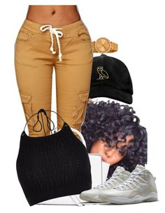 """Untitled #22"" by mindless-babii ❤ liked on Polyvore featuring Michael Kors, October's Very Own, MICHAEL Michael Kors, River Island and Drakes London"