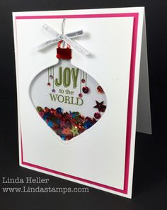 Happy Stampin' Saturday! Before I go into my ornament shaker card, I have a newsflash about an upcoming sale that Stampin' Up is having. SU released a blurb about it on Friday but…