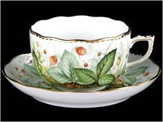 Hungarian Herend Porcelain Cup & Saucer