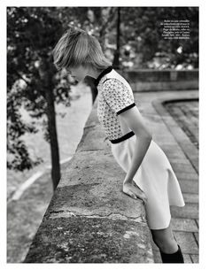 Vogue Paris Setembro 2014 | Edie Campbell por Alasdair McLellan [Editorial]