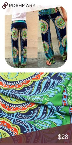 floral print wide leg pants Brand new with tag. Get 15% off when you buy two or more. Pants Wide Leg