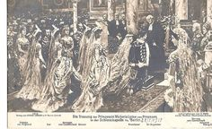 24 May 1913 Prince Ernst August of Cumberland, future Duke of Brunswick-Luneburg, married princess Viktoria Luise of Prussia, daughter of Emperor Wilhelm II. The couple married in Berlin