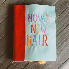 """""""Nova's New Hair"""" Homemade Children's Book - A Beautiful Mess"""
