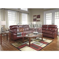 8 Pc Complete Living Room Set DuraBlend®/Match Upholstery Features  DuraBlend® Upholstery In