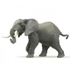 Plastic speelgoed olifant 16 cm