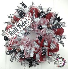 Deco Mesh University of Alabama Roll Tide by SouthernCharmWreaths, $89.00