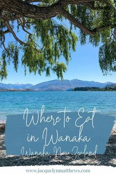 Looking for a recommendation on where to eat in Wanaka, New Zealand? Check out these Wanaka restaurants! Bucket List Destinations, Travel Destinations, Spaghetti House, Vacation Rentals By Owner, Water Pictures, New Zealand Travel, Garlic Bread, Travel List, Plan Your Trip