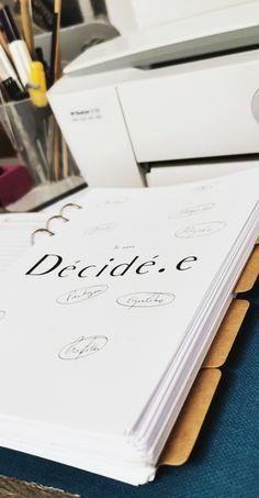 Un agenda au design français, pour votre planner ou votre agenda rechargeable. Plus d'info sur le blog !