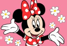 Lovely and sweet Minnie Mouse