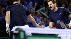 Davis Cup semi-final: Great Britain v Australia
