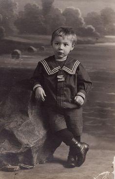 victorian toddler boy sailor suit - Google Search