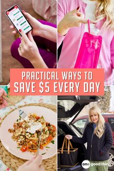Saving is more sustainable when you do it a little at time—start saving $5 per day with the help of these tips.