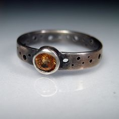 Something I will confess: I think it would be so cool if my engagement ring was homemade!