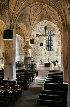 Medieval Church of St Lawrence (Lohja, Finland)