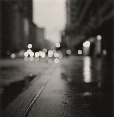 black and white, blur, blurr, city, color, distorte