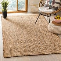 Safavieh Handmade Natural Fiber Kaushalya Jute Rug x - Brown), Beige Handmade Natural, Jute Rug, Colorful Rugs, Natural Fiber Rugs, Rugs, Soft Sisal, Brown Area Rugs, Jute, Rug Making