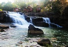 Being home to beautiful waterfalls, and scenes, tribe villages, and unexploded sites, Bolaven Plateau became one of the most regarding Laos destinations. Laos Travel, Beautiful Waterfalls, Local History, Bangkok, Paths, Places To Go, Paradise, Around The Worlds, Explore
