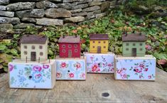 Upcycle, Miniatures, House, Upcycling, Upcycled Crafts, Haus, Miniature, Recycling, Mockup