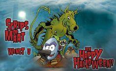 Strips op Maat wenst iedereen een Happy Halloween!