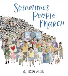 With a spare, inspiring text and gorgeous watercolor illustrations, this is a timeless and important book for activists of all ages. This hardcover picture book is perfect for sharing and for gifting.  Sometimes people march to resist injustice, to stand in solidarity, to inspire hope.  Throughout American history, one thing remains true: no matter how or why people march, they are powerful because they march together. Tessa Allen, Used Books, Books To Read, Kindle Ebooks, March Book, September 1, Baker And Taylor, Illustrator, A Girl Like Me