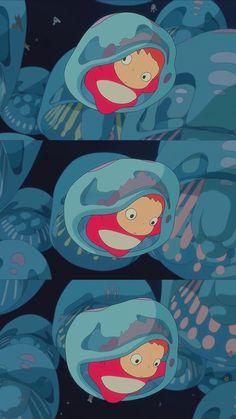Studio Ghibli Art, Studio Ghibli Movies, Kawaii Wallpaper, Cartoon Wallpaper, Personajes Studio Ghibli, Japanese Artwork, Japon Illustration, Amazing Drawings, Hayao Miyazaki