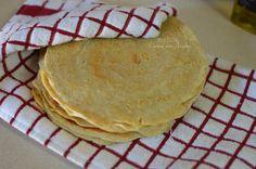 Tortillas de Avena y Clara de huevo