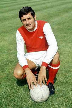 Frank McLintock of Arsenal in 1971.