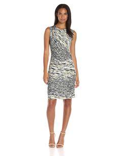 NIC ZOE Women's Green Oasis Twist Dress