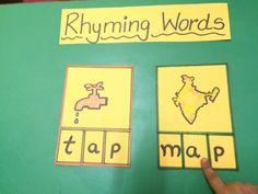 Rhyming words #dyslexia #learningdisabilities  www.orkidsped.com