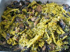 la cucina di Rosaria: lasagnette con funghi, broccoli e panna