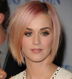 Top 50 Bob Hairstyles for Women: Katy Perry   #bobhair #shorthairstyles #hairstyles