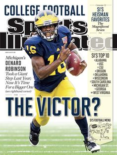 SI - The Victor? Denard Robinson is one of five college football plays to be awarded regional cover speads in SI's annual preview. #GOBLUE