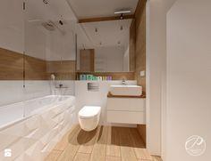 Mieszkanie na Marysinie - Łazienka, styl nowoczesny - zdjęcie od Progetti Architektura