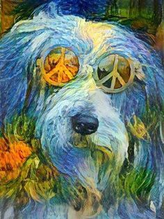 Dog Peace Man ☮