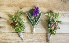 Herb Wedding DIY Projects and Decor Ideas