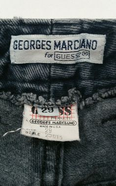 Jean Georges, Clothing Tags, Dark Blue Jeans, High Waist Jeans, Ebay, Clothes, Shopping, Vintage, Women