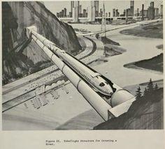 Tubeflight over River
