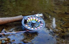 Flyfishing reel and line
