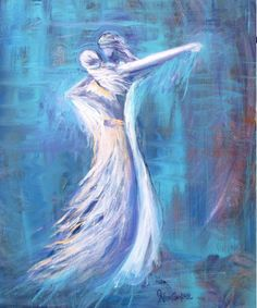 Bride of Christ. Beautiful Prophetic painting with Jesus dancing with His Bride. Please also visit www.JustForYouPropheticArt.com for colorful inspirational Prophetic Art and stories. Thank you so much! Blessings!