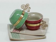 Deliciosas e charmosas, as xícaras para café do Atelier de Cerâmica Tauariê Objetário