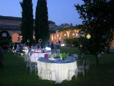 Convento dell'Annunciata - Giardino imbandito per matrimoni