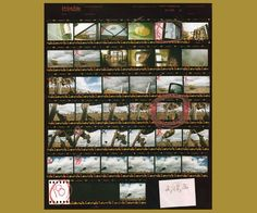 Image result for Saul Leiter contact sheet